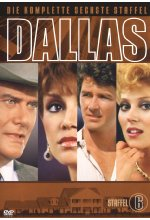 Dallas - Staffel 6  [8 DVDs] DVD-Cover