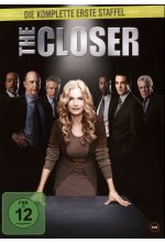 The Closer - Staffel 1  [4 DVDs] DVD-Cover