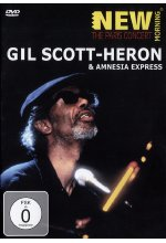 Gil Scott-Heron - New Morning: The Paris Concert DVD-Cover
