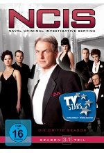 NCIS - Naval Criminal Investigate Service/Season 3.1  [3 DVDs] DVD-Cover