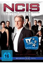 NCIS - Naval Criminal Investigate Service/Season 3.2  [4 DVDs] DVD-Cover