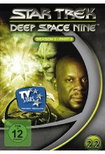 Star Trek - Deep Space Nine/Season 2.2  [4 DVDs] DVD-Cover