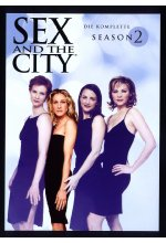 Sex and the City - Season 2  [3 DVDs] DVD-Cover