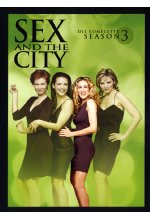 Sex and the City - Season 3  [3 DVDs] DVD-Cover