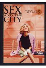 Sex and the City - Season 5  [2 DVDs] DVD-Cover