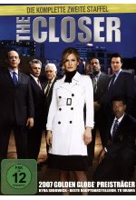 The Closer - Staffel 2  [4 DVDs] DVD-Cover