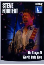 Steve Forbert - On Stage at World Cafe/Live DVD-Cover
