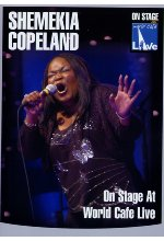 Shemekia Copeland - On Stage at World Cafe/Live DVD-Cover