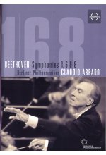 Beethoven - Symphonies 1, 6 & 8 DVD-Cover
