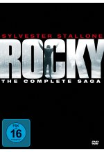 Rocky 1-6 - The Complete Saga  [6 DVDs] DVD-Cover