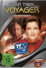 Star Trek - Voyager/Season 1.2  [3 DVDs]<br> DVD-Cover