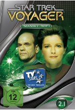 Star Trek - Voyager/Season 2.1  [3 DVDs]<br> DVD-Cover