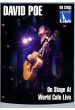 David Poe - On Stage At World Cafe/Live DVD-Cover