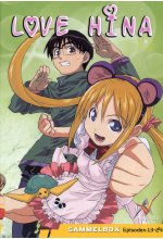 Love Hina Box-Set 2 - Vol. 4-6  [3 DVDs] DVD-Cover