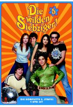 Die wilden Siebziger! - Staffel 5  [4 DVDs] DVD-Cover