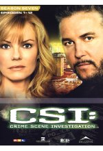 CSI - Season 7 / Box-Set 1  [3 DVDs] DVD-Cover