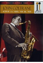 John Coltrane - Live in '60, '61 & '65 DVD-Cover