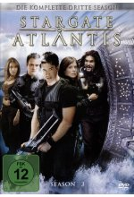 Stargate Atlantis Season 3  [5 DVDs] DVD-Cover