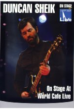 Duncan Sheik - On Stage at World Cafe/Live DVD-Cover