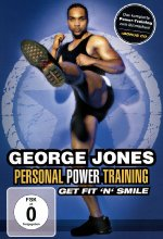 George Jones - Get Fit 'N' Smile/Personal Power Training  (+ CD) DVD-Cover