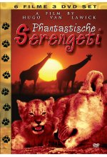 Phantastische Serengeti  [3 DVDs] DVD-Cover