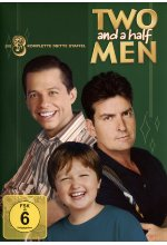 Two and a Half Men - Mein cooler Onkel Charlie - Staffel 3  [4 DVDs] DVD-Cover