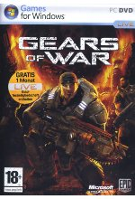 Gears of War (uncut) (DVD-ROM) Cover