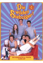 Die wilden Siebziger! - Staffel 6  [4 DVDs] DVD-Cover