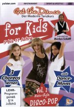 Get the Dance for Kids - Vol. 1/Disco-Pop DVD-Cover