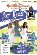 Get the Dance for Kids - Vol. 4/House DVD-Cover