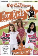 Get the Dance for Kids - Vol. 5/Dancefloor DVD-Cover