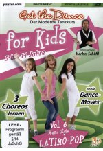 Get the Dance for Kids - Vol. 6/Latino-Pop DVD-Cover