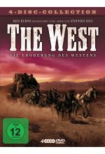 The West - Die Eroberung des Westens  [4 DVDs] DVD-Cover