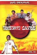 Takeshi's Castle - Vol. 1  [3 DVDs] DVD-Cover
