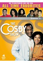 The Bill Cosby Show - Staffel 3  [4 DVDs] DVD-Cover