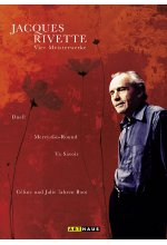 Jacques Rivette - Vier Meisterwerke  [4 DVDs] DVD-Cover