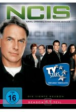 NCIS - Naval Criminal Investigate Service/Season 4.1  [3 DVDs] DVD-Cover