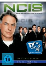 NCIS - Naval Criminal Investigate Service/Season 4.2  [3 DVDs] DVD-Cover