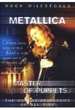 Metallica - Master of Puppets/Rock Milestones DVD-Cover