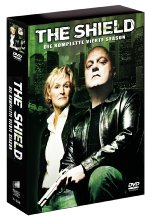 The Shield - Season 4  [4 DVDs] DVD-Cover