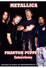 Metallica - Phantom Puppets/Interviews DVD-Cover