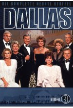 Dallas - Staffel 9  [4 DVDs] DVD-Cover