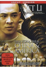 Once upon a time in China & America DVD-Cover