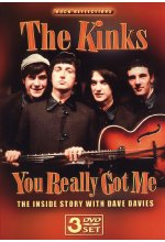 The Kinks - You Really Got Me  [3 DVDs] DVD-Cover