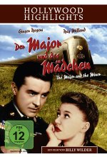 Der Major und das Mädchen - Hollywood Highlights DVD-Cover