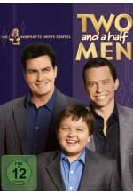 Two and a Half Men - Mein cooler Onkel Charlie - Staffel 4  [4 DVDs] DVD-Cover