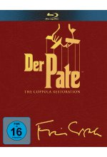 Der Pate 1-3 - Trilogy  [4 BRs] Blu-ray-Cover