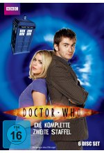 Doctor Who - Die komplette 2. Staffel  [6 DVDs] DVD-Cover