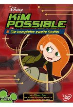 Kim Possible - Staffel 2  [4 DVDs] DVD-Cover
