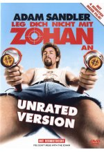 Leg dich nicht mit Zohan an - Unrated Version DVD-Cover